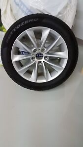 Winter wheels/tires BMW X3/X4 Set of 4