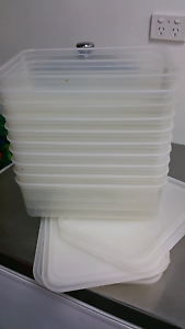 10 Tupperware containers Hallett Cove Marion Area Preview