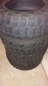 MUD TYRE SET OF 4 Kings Park Brimbank Area Preview