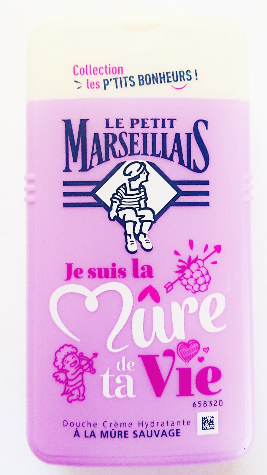 Seife Duschgel Le Petit Marseillais Brombeer-Duft 250ml Frankreich pH-neutral !