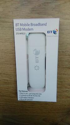 ZTE MF 823 Mobile Broadband  LTE USB STICK 4G Dongle 100Mb UNLOCKED NEW WHITE