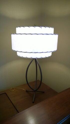 DIY Kit Mid Century Vintage Style 3 Tier Fiberglass Lamp Shade DIY Kit Retro
