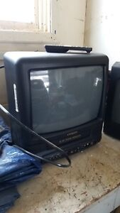 Citizen CRT TV with VHS