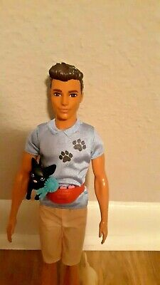 Ken dog trainer doll with accessories