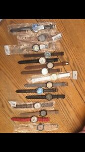 14  brand new watches all for $100 first come first serve