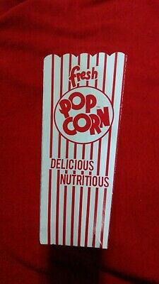 25 Count 1.25 Oz 47e Popcorn Scoop Popcorn Box Great For Concessions Theaters