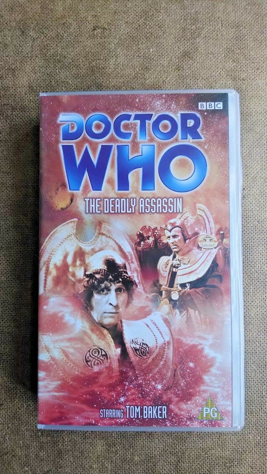 Doctor Who The Deadly Assassin - Tom Baker