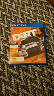 Dirt 4 ps4 PlayStation 4 video game immaculzte condition