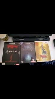 Gamecube, Wii Games, Zelda, Resident Evil 4, Eternal Darkness