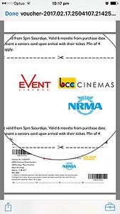 Kids movie vouchers Pennant Hills Hornsby Area Preview