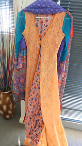 Pakistani/indian long floor length dress East Cannington Canning Area Preview
