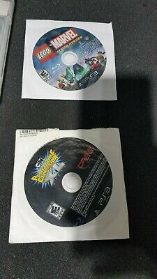 LEGO Marvel Super Heroes & CN Punchtime Explosion XL disc only TESTED