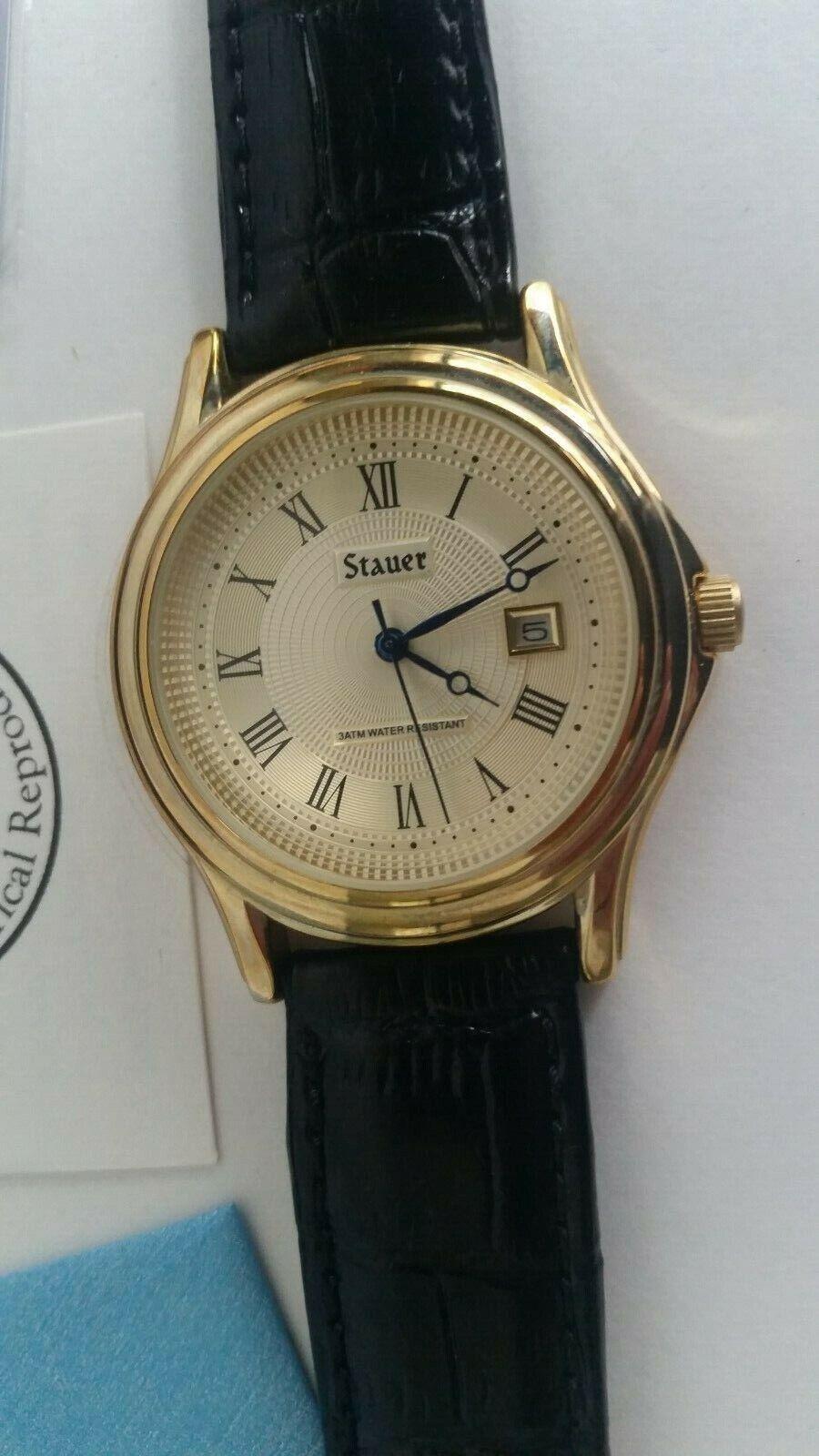 Stauer Metropolitan Historical Reproduction Men's Watch in B
