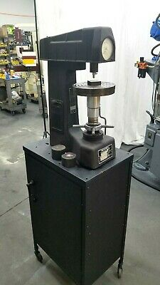 Rockwell Hardness Tester With Accessories And Cabinet Free Shipping