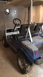 *Kart de golf club car***