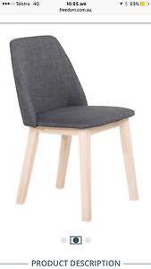 Freedom Fletcher dining chairs x 6 Balmain Leichhardt Area Preview