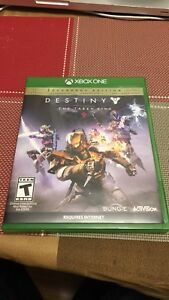 Xbox one Destiny The Taken King
