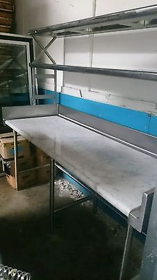 Commercial Work Table Marble Top This Stainless Steel Work Table Is The Perfec