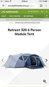 Kathmandu Tent New - 6 Person Module Beulah Park Burnside Area Preview
