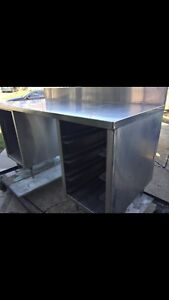 Stainless Steel Bench - REDUCED TO SELL ASAP!