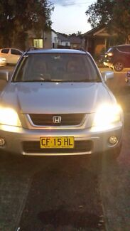 2001 Honda CRV sports luxury 6 months rego Auburn Auburn Area Preview
