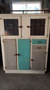 Vintage Armoire with lead light doors Ashgrove Brisbane North West Preview