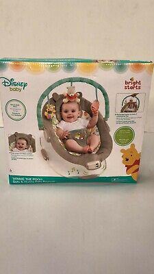 NEW!! Bright Starts Disney Baby -Winnie The Pooh Dots & Hunny Pots Bouncer