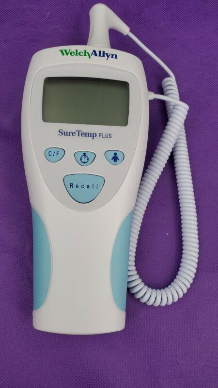 Welch Allyn Digital Thermometer SureTemp Plus 692 w/ Probe Covers REF 01692-200