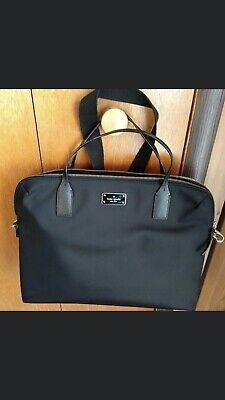 Kate Spade Laptop Shoulder Crossbody Bag Black 🖤 Nylon