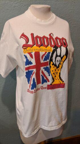 The Rolling Stones Voodoo Intl 1995 Wembley Stadium London T-Shirt Size Large