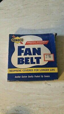 Vintage SUNOCO Fan Belt In Original Box