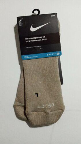 Nike Dri Fit Performance Tab Unisex Socks Light Brown NEW
