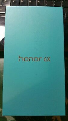 Brand new.Huawei - Honor 6x 4G LTE with 32GB Memory Cell Phone (Unlocked) - Gray