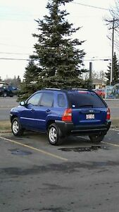 2006 Kia Sportage, Manual