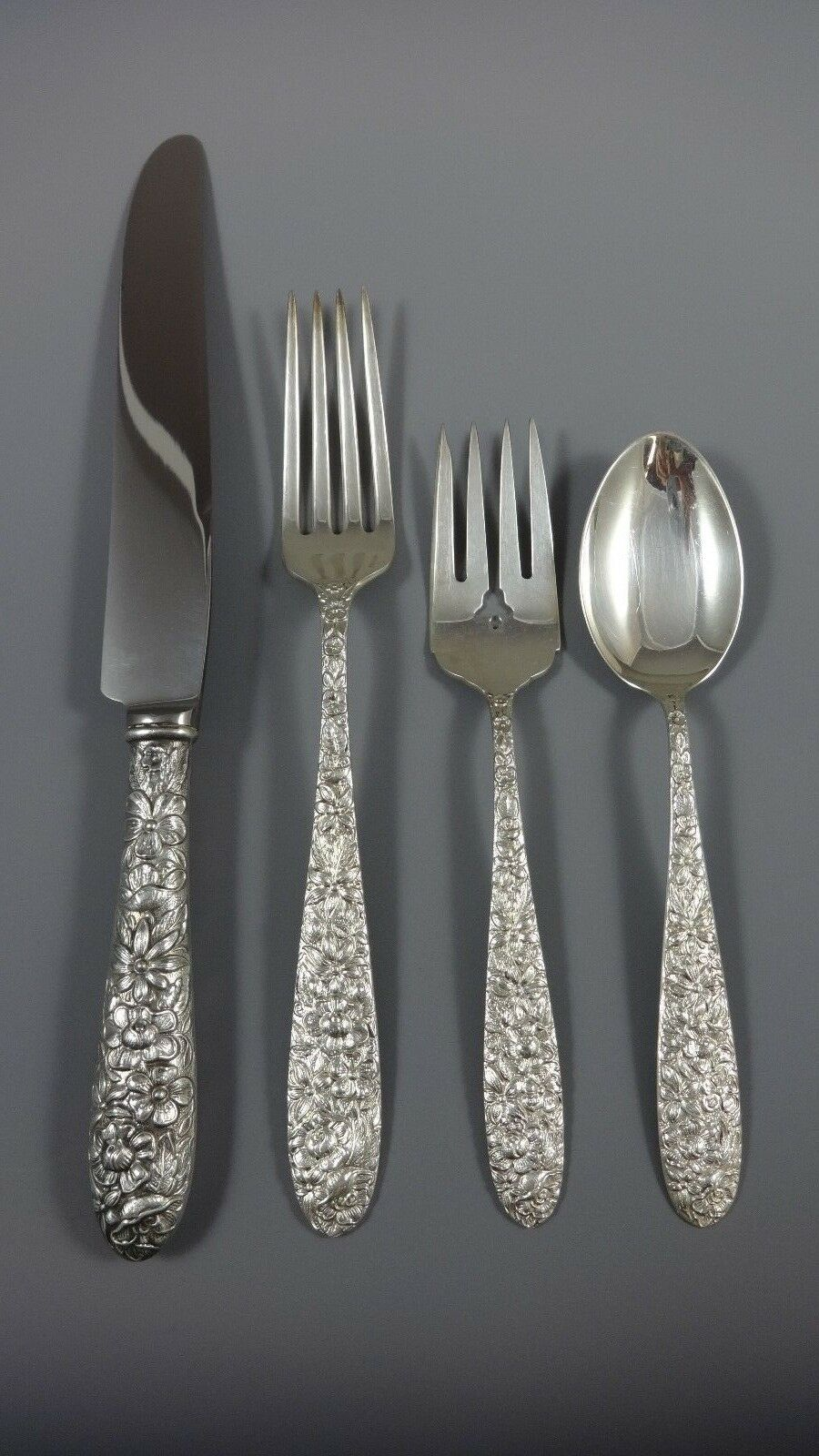"""Southern Rose by Manchester Sterling Silver Relish Scoop Custom Made 5 3//4/"""""""