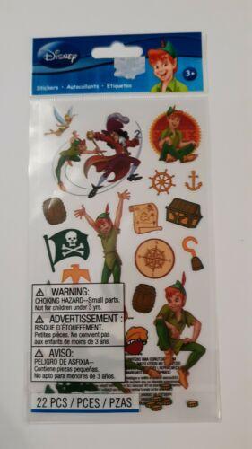 NEW Disney Peter Pan Tinkerbell Captain Hook Pirate Stickers EK Success