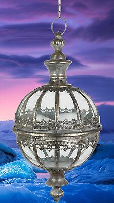 Laterne Hänge Lampe Kugel Form Leuchten Antiq Beleuchtung Mobiliar Geschenk