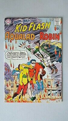Brave and the Bold Issue 54 VF- (1st App of Teen Titans) DC Comics