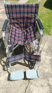Folding wheelchair Guildford West Parramatta Area Preview