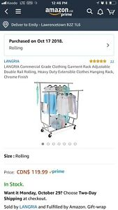 Clothing rack wanted