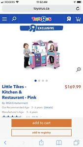 Little Tykes Kitchen and Restaurant plus tons of accessories
