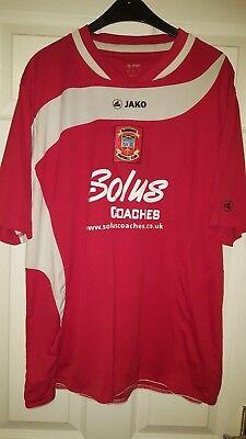 Mens Football Shirt - Tamworth FC - Home 2012-2013 - Jako - Red & Whitw image