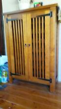 Timber wine cabinet Eastwood Ryde Area Preview