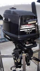 4hp mercury outboard long shaft East Rockingham Rockingham Area Preview