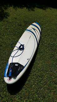 Outtheback Zetech Mini Mal Surfboard.