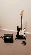 Legend electric guitar with amp, stand, case, lead Cowra Cowra Area Preview