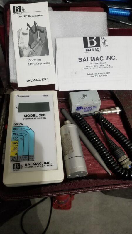 Belmac Model 200 Digital Vibration Meter Tool