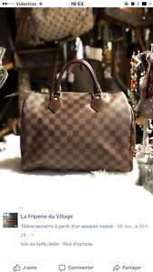 Authentique Louis Vuitton Speedy 30 keepall et autres