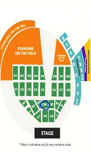 BELOW COST PRICE! Platinum Elton John tickets (ONE LEFT!)