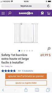 Barrière Safety first